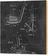Sand Wedge Patent Wood Print