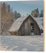 Sanders Barn Wood Print