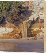Sandfall II Wood Print