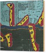 Sandia Cottonwood The Mantid Wood Print