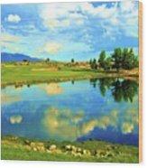 Sandia Golf Club Hole #14 Wood Print