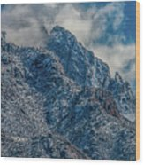 Sandia Mountains 2 Wood Print