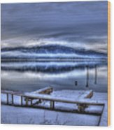 Sandpoint From 41 South Wood Print