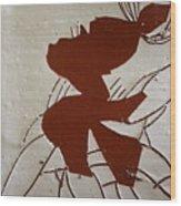 Sandra - Tile Wood Print