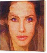 Sandra Jolie Wood Print