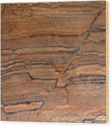 Sandstone Art I Wood Print
