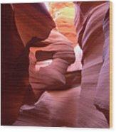 Sandstone Art Wood Print