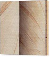 Sandstone Columns Wood Print