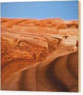 Sandstone Edge Wood Print