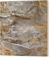 Sandstone Formation Number 2 At Starved Rock State Wood Print