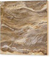 Sandstone Formation Number 3 At Starved Rock State Wood Print