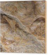 Sandstone Formation Number 4 At Starved Rock State Wood Print