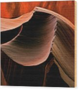 Sandstone Melody Wood Print by Mike  Dawson