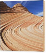 Sandstone Slide Wood Print