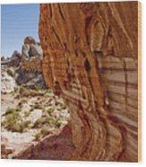 Sandstone Texture Wood Print
