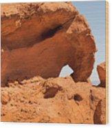 Sandstone Wonder Valley Of Fire Wood Print