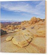 Sandstone Wonders Wood Print