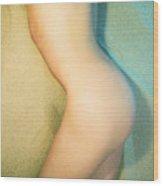 Sandy Dune Nude - The Torso Wood Print