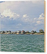 Sandy Neck Cottage Colony Wood Print