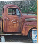 Sanford And Son Salvage 1 Wood Print