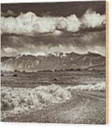 Sangre De Cristo Mountains Wood Print