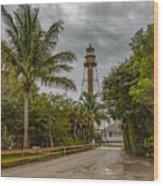 Sanibel Island Lighthouse Wood Print