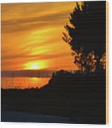 Sanibel Island Sunset Two Wood Print