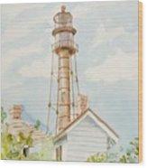 Sanibel Lighthouse 2 Wood Print