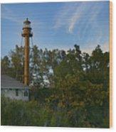 Sanibel Lighthouse Wood Print