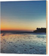 Sanibel Sunrise Wood Print