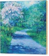 Sanita Hill Wood Print