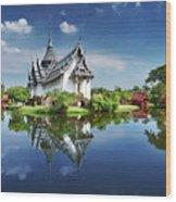 Sanphet Prasat Palace, Thailand Wood Print