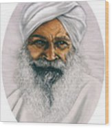 Sant Kirpal Singh Wood Print