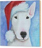 Santa Bully Wood Print