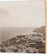Santa Catalina At La Gomera Wood Print