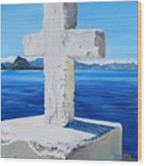 Santa Catarina's Cross Wood Print