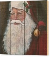 Santa Clause  Wood Print