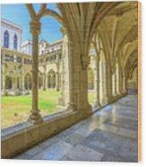 Santa Cruz Monastery Wood Print