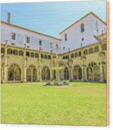 Santa Cruz Monastery Cloister Wood Print