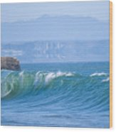 Santa Cruz Surf Wood Print