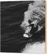 Santa Cruz Surfer Dude Wood Print