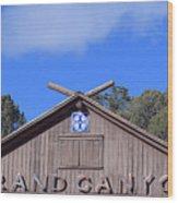 Santa Fe At The Grand Canyon Wood Print