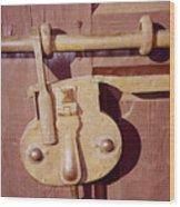 Santa Fe Lock Down Wood Print
