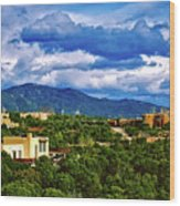 Santa Fe New Mexico Wood Print