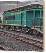 Santa Fe Rail Yard Wood Print