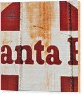 Santa Fe Railway Wood Print