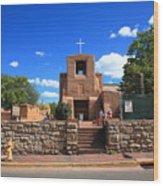 Santa Fe - San Miguel Chapel 6 Wood Print