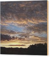 Santa Fe Sunrise  Wood Print