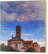 Santa Francesca Romana 2 Wood Print