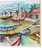 Santa Luzia 04 Wood Print